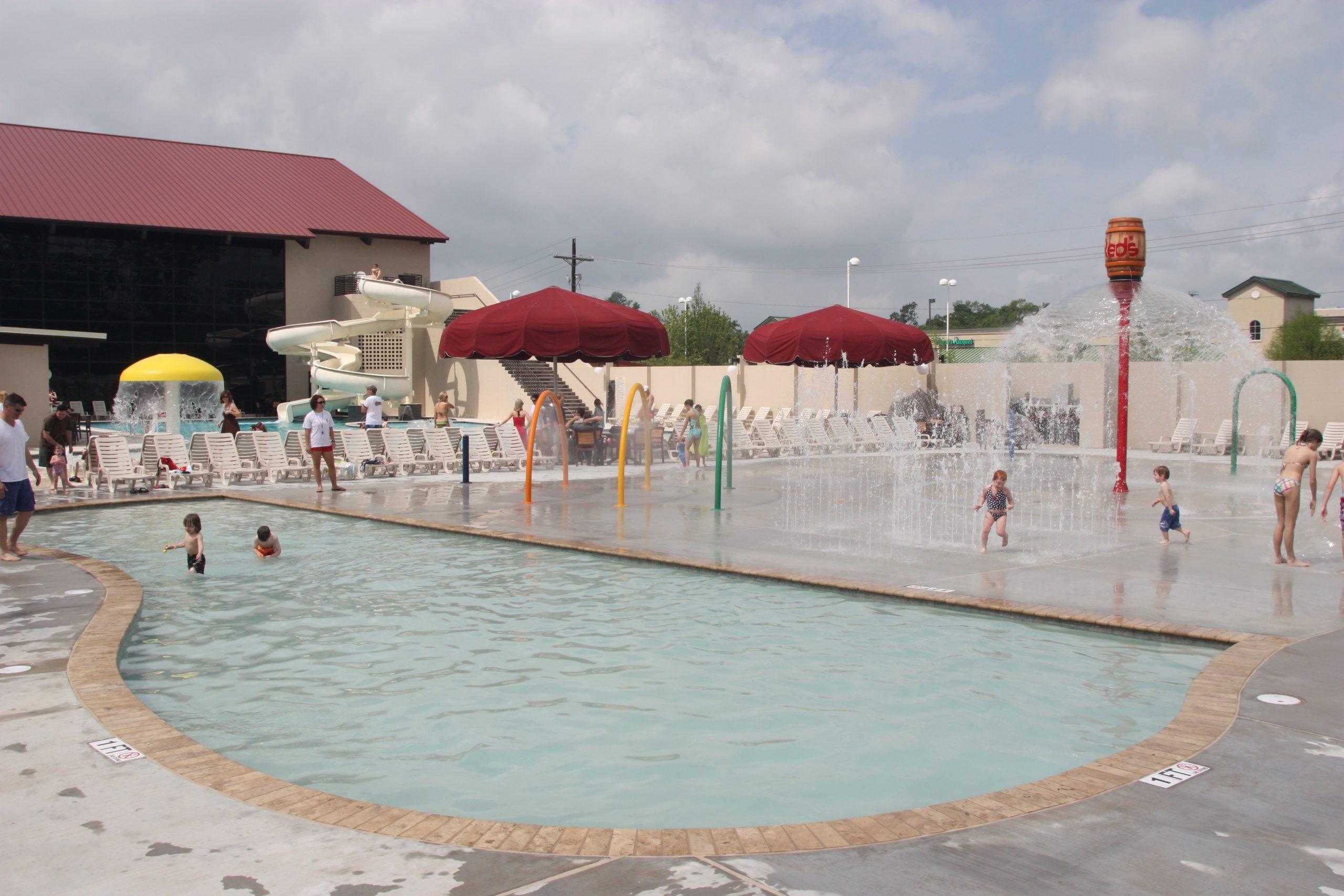 Splash Park at Red's in Lafayette, La
