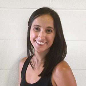 Estelle Benoit, nutritionist and group fitness instructor at Red Lerille's Health Club in Lafayette, LA.