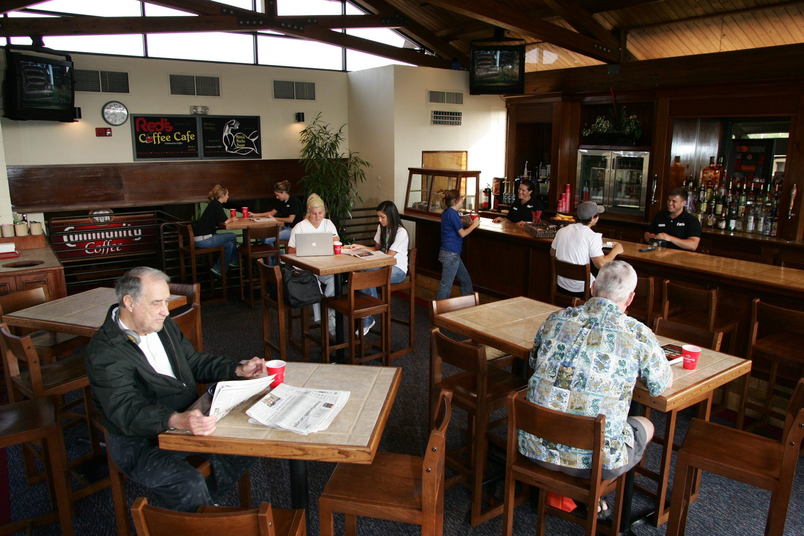 Coffee Bar/Lounge in Red's in Lafayette, La