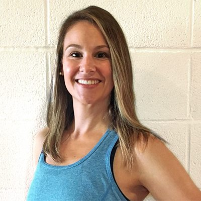 Katie Concienne, group fitness instructor at Red's.