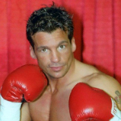 Chad Broussard, former professional boxer and personal trainer at Red's in Lafayette, LA.