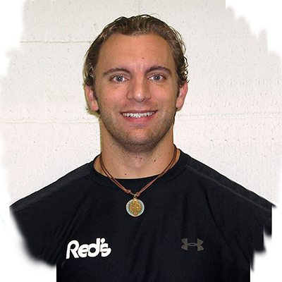 Robbie Adams, personal trainer at Red's in Lafayette, LA.