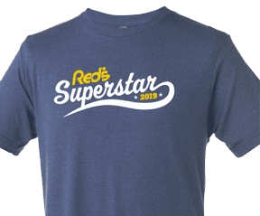2019 Red's Superstar Shirt at Red's.