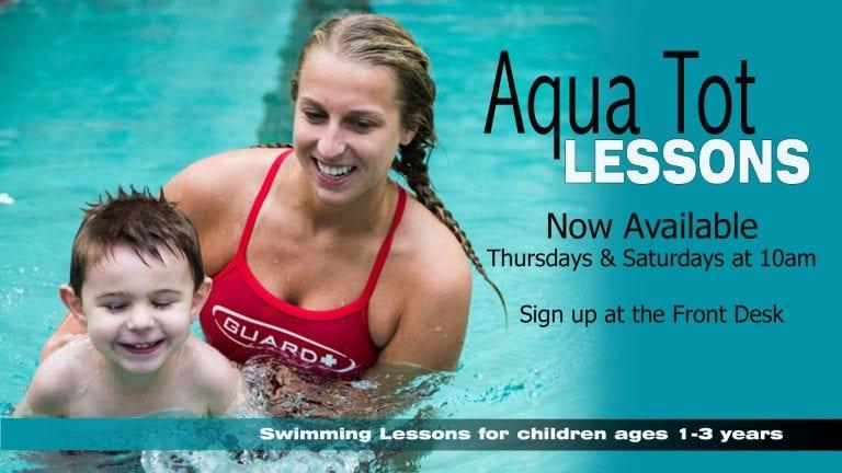 Aqua Tot classes at Red's.