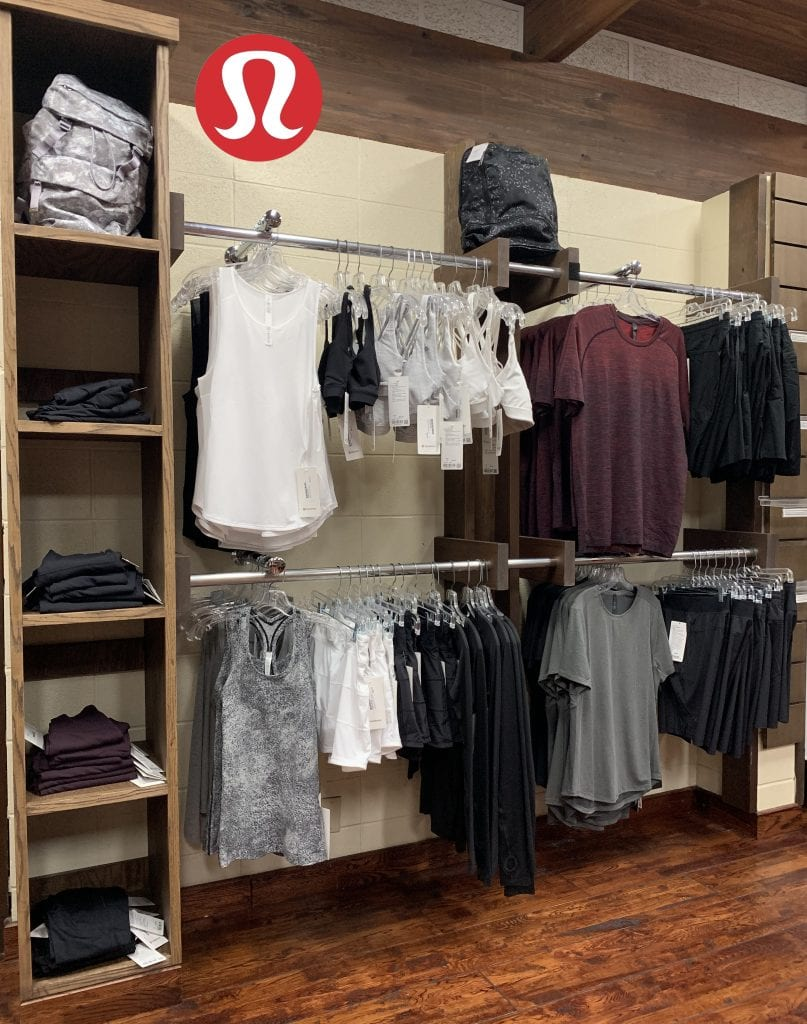 lululemon now at Red's.