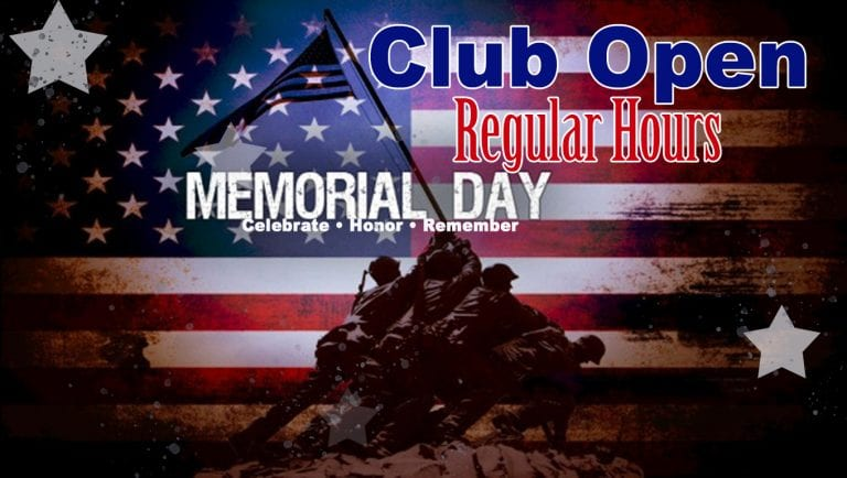 Memorial Day 2019 at Red's.
