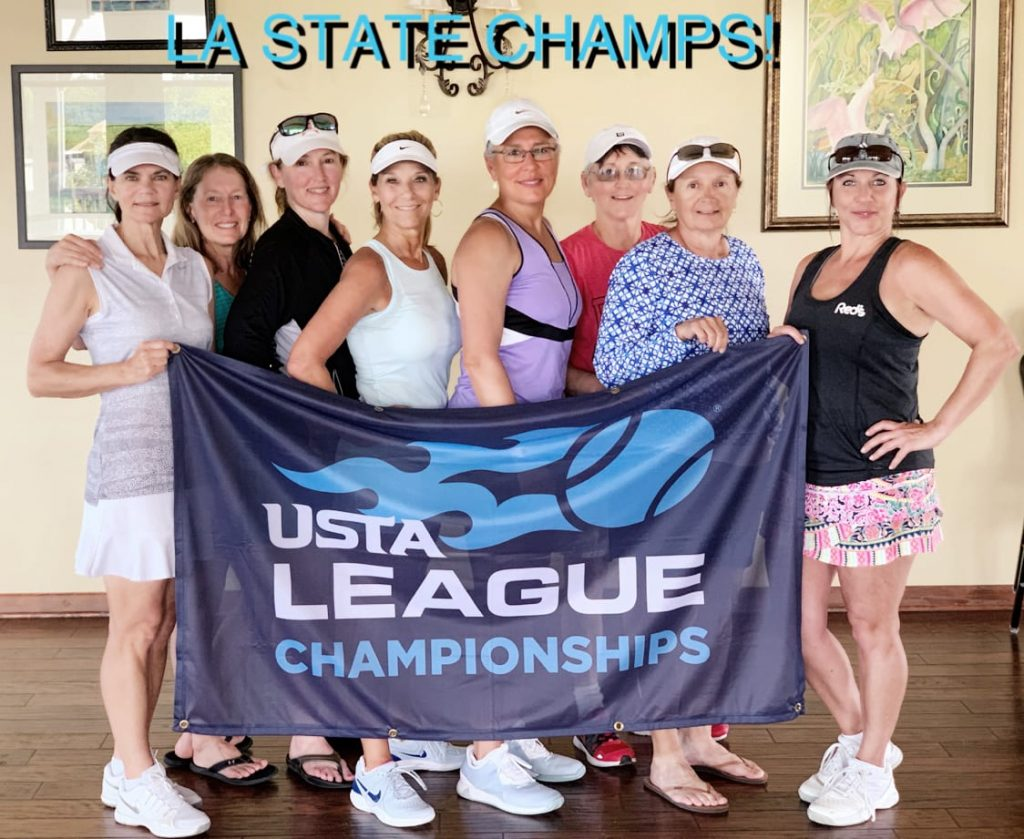 Smokin' Red Hots tennis team wins LA State.